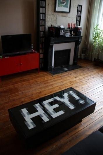 IKEA Hackers: IKEA LEGO Table #design #lego
