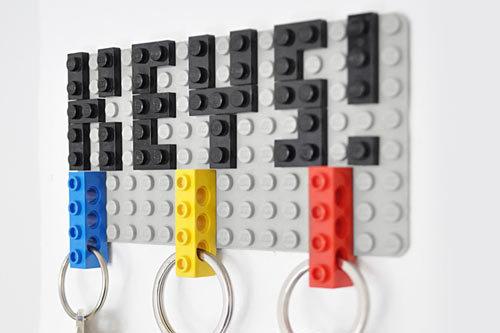 LEGO DIY Key Hanger by Felix Grauer Photo #hanger #key #lego