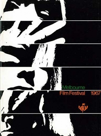 Item 164: MIFF Booklet / unknown designer / 1967 « Recollection #international #white #festival #black #1967 #melbourne #poster #film