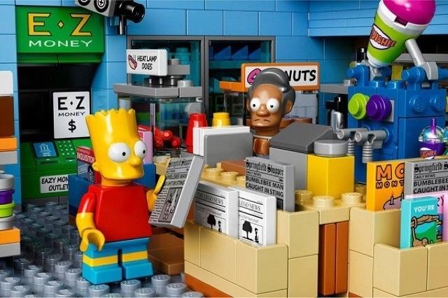 The Kwik-E-Mart From The Simpsons Lego_2 #simpsons #kwik-e-mart #lego #the