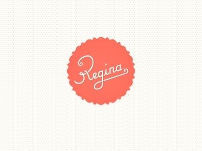 Regina-casaleggio-logo http://dribbble.com/ReginaCasaleggio #logo #regina