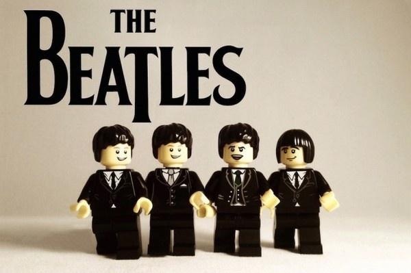 Iconic Bands Recreated in LEGO – Fubiz™ #toys #band #lego