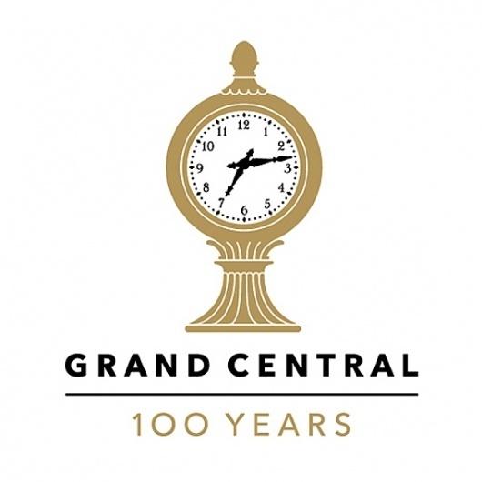 Grand Central Terminal Anniversary Logo by Pentagram | #logo #design