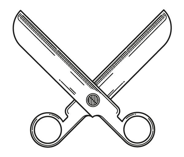 MNNK Scissors #pictogram #iconography #icon #design #graphic #scissors #icons #scissor #illustration #collective #music