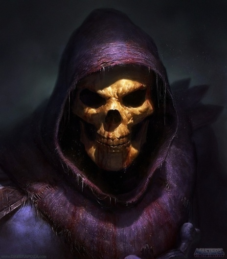 Geek Art: This is one Badass SKELETORÂ - News - GeekTyrant #illustration