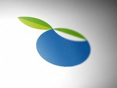 Blue Berry #berry #logo #fruit