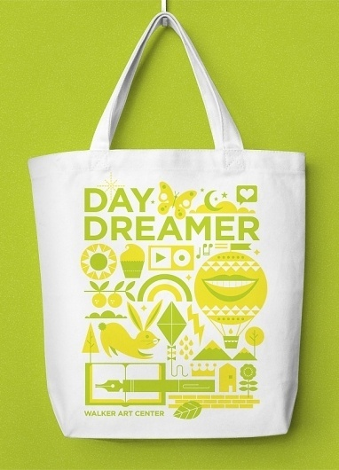 Eight Hour Day » Walker Art Center WAC Packs #illustration