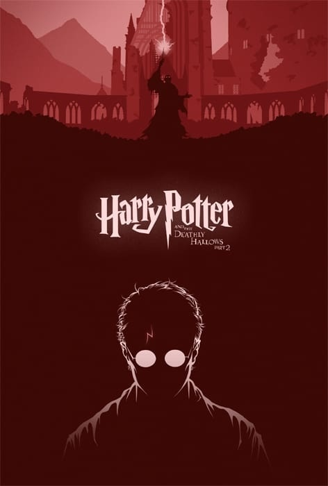 Harry Potter poster by Cameron K. Lewis.