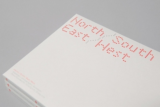 North / South / East / West: Give Up Art #design #book