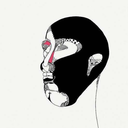 Portfolio of Thiago Arrighi » Design You Trust #ink #modern #illustration #pen #and