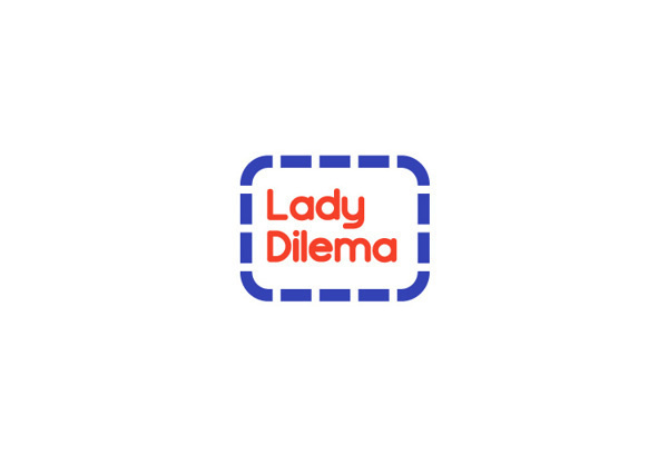 Lady Dilema Handmade Embroidery #baeza #bruno #embroidery #handmade #logo