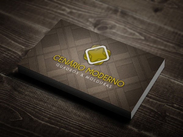 cenário moderno | business card #card #design #graphic #business