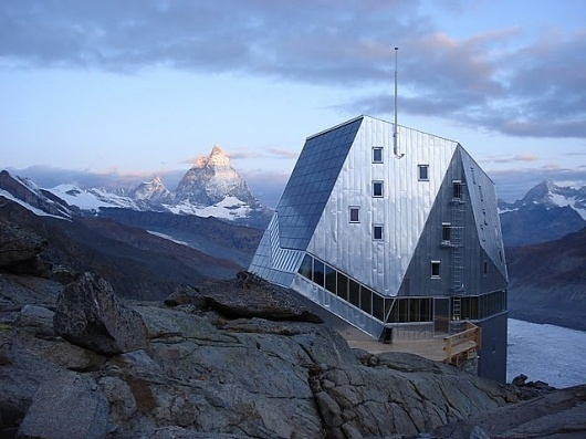 arch plus 355: Monte Rosa Huette | Bearth & Deplazes #swiss #alps #hut #architecture