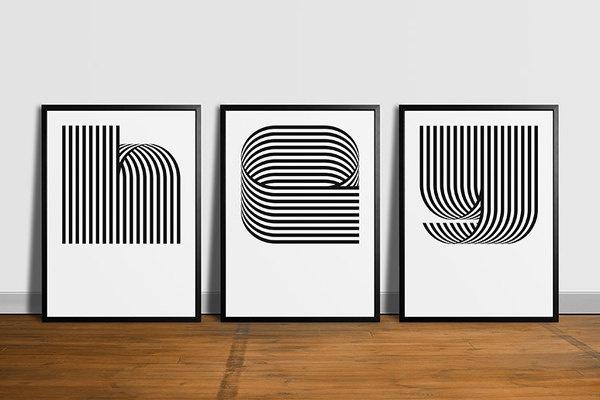 hey #design #typography