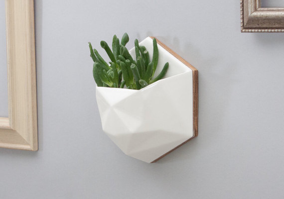#Ceramic #Geometric #Hanging #Planter