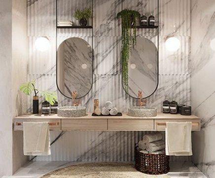 39 Trendy bath room design public mirror #bath