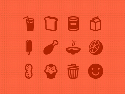 Feedreport icons dribbble #cupcake #icons