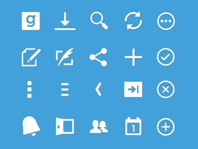 Guidebook Android Icons #icon