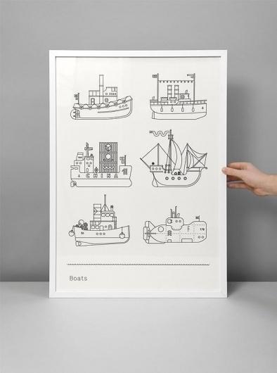 Design Blog | Design.org #illustration #poster #boats
