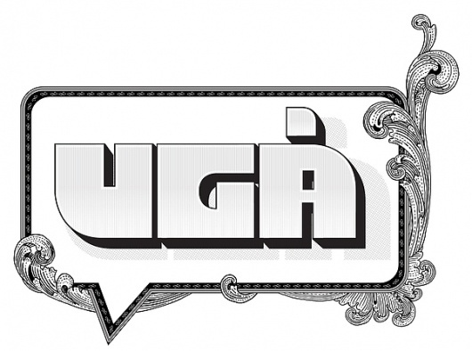 Ugå 2011 on the Behance Network #lunde #kris #white #print #design #graphic #newspaper #black #ug #logo