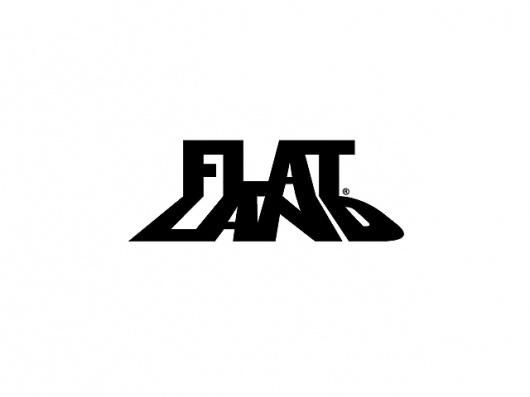 B/W : Ahab Nimry #mark #flat #perspective #land #black #concept #logo #shadow
