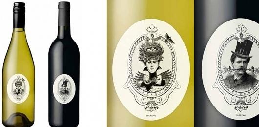 Seesaw Design #design #graphic #label #wine