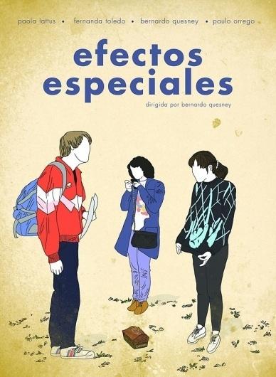 Efectos Especiales: El cine de las apariencias   Cinépata #chile #design #poster #film