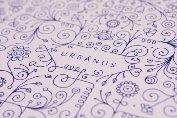 Urban Folklor Poster #print #design #graphic #poster #typography