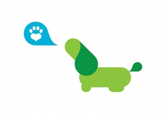 Animal Wellness Centers on Branding Served #illustration #iconography #branding