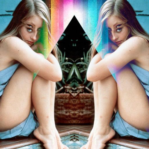 BIZARRE LOVE TRI△NGLE #design #geometric #photography #triangle #reflection #refraction