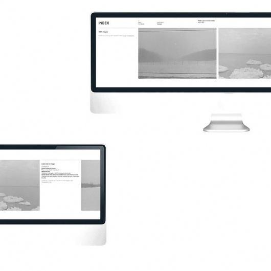 order, type, and grain on the Behance Network #greg #horizontal #ponchak #themes #theme #wordpress #horizontalwp