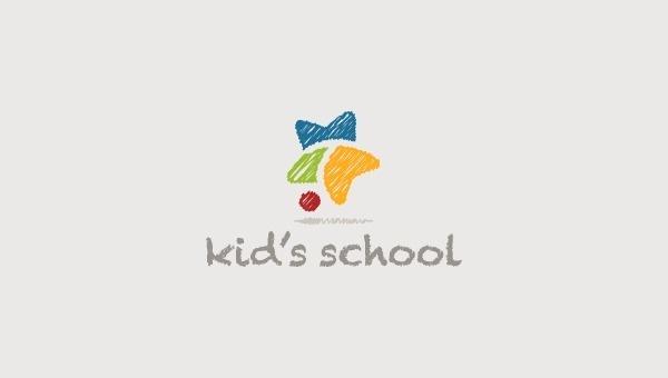 Logo KidsSchool on Behance #branding #school #illustration #kids #logo #children