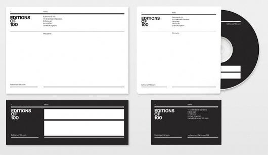 Looks like good Identity and Package Design by BERG #grid #print #identity