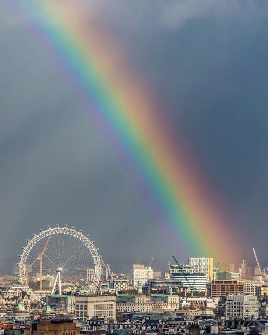 стала картинки радуга над городом вместе занимались