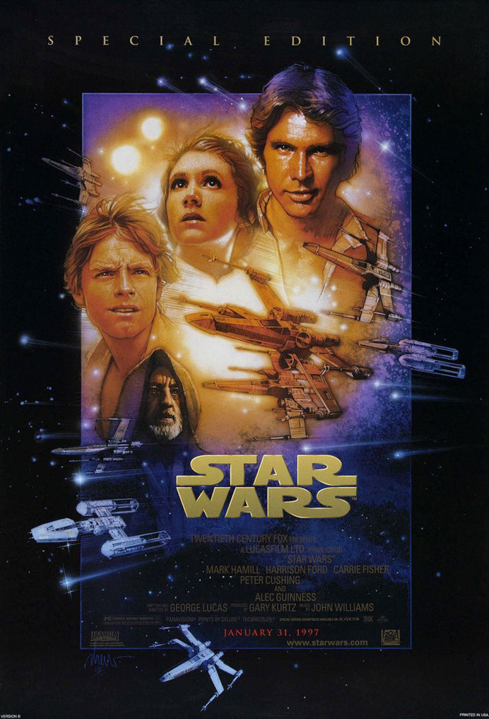 Best double sided movie posters